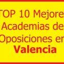 las mejores academias de oposiciones en valencia